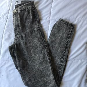 American Apparel Easy Jean Acid Washed